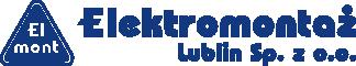 Logo Elektromontaż Lublin