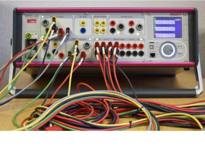Kocos ARTES 460 – tester zabezpieczeń